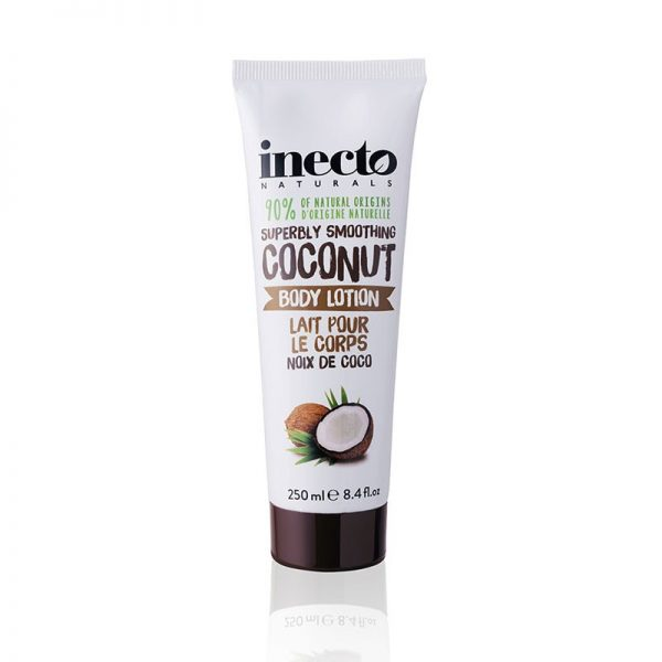 inecto pure coconut лосьон для тела