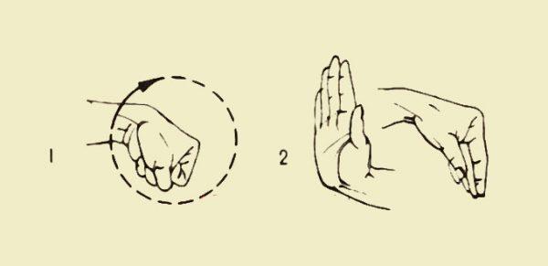 Способ разминки кистей рук