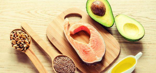 Продукты с содержанием жирных кислот