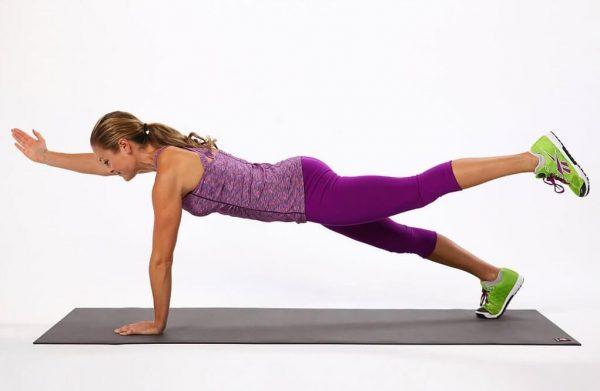 Упражнение Усложнённая планка