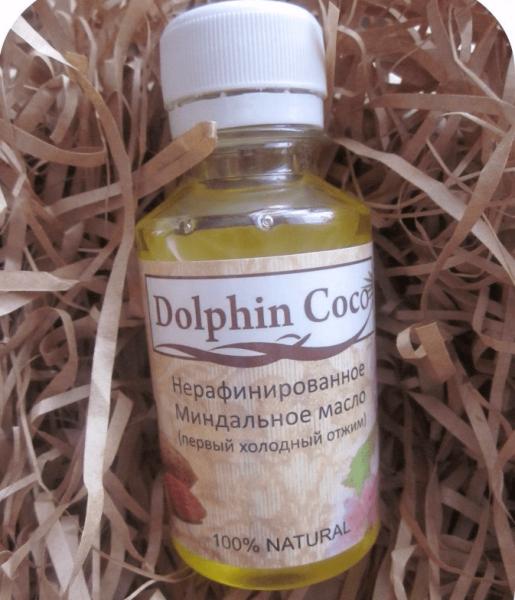 бутылочка нерафинированного миндального масла