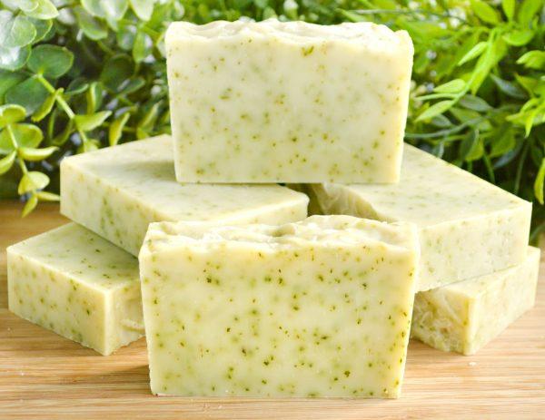 Мыло ручной работы с маслом розмарина