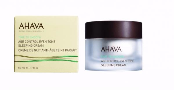 Time To Smooth Антивозрастной ночной крем для выравнивания цвета кожи AHAVA