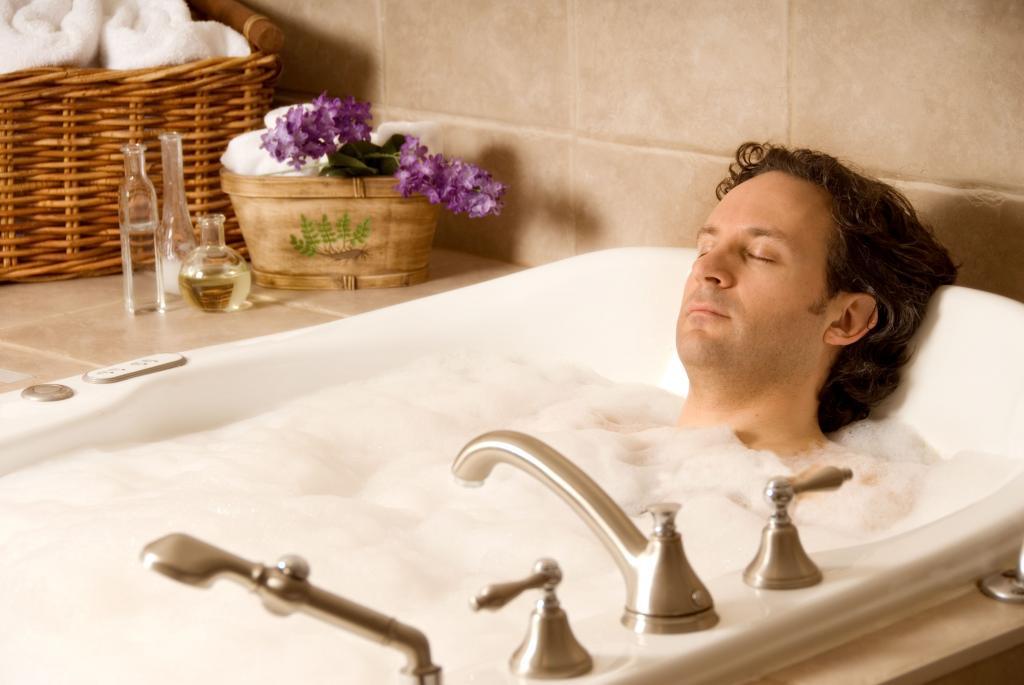 Как влияет горячая ванна на потенцию