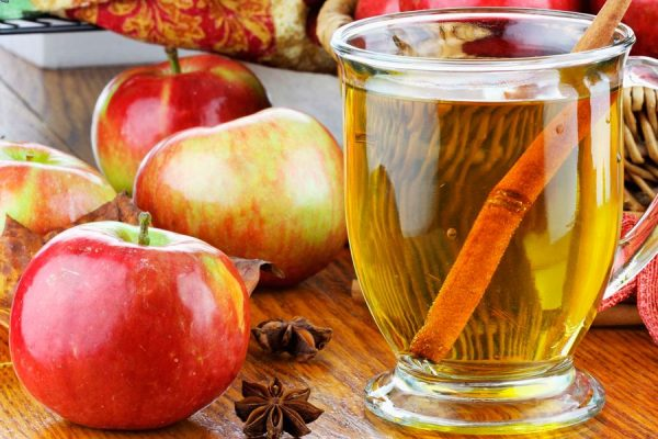 яблочный уксус и мёд