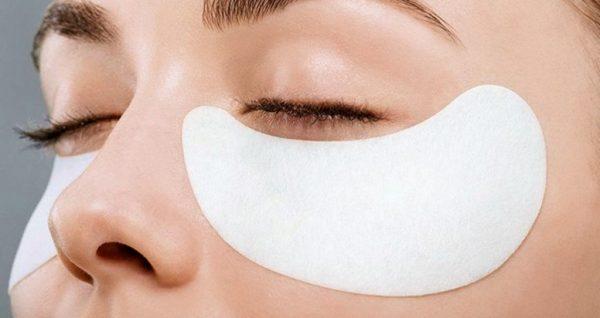 омолаживающая маска для кожи под глазами