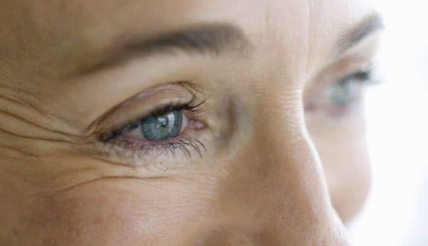 морщины вокруг глаз после пятидесяти лет