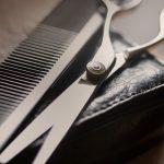 Ножницы для срезки седых волос