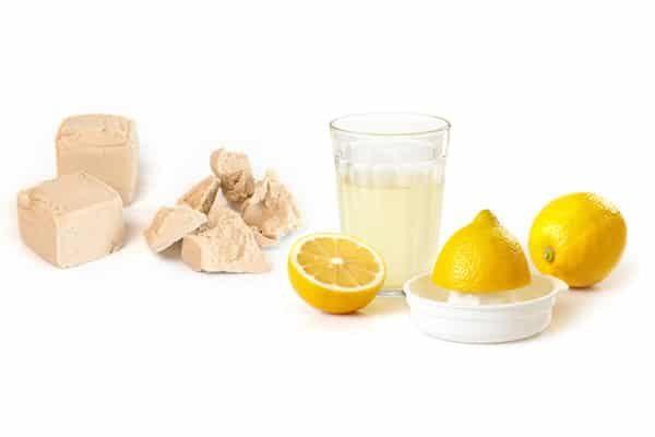 Дрожжи и лимоны