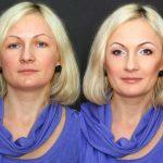 Макияж 30-летней блондинки