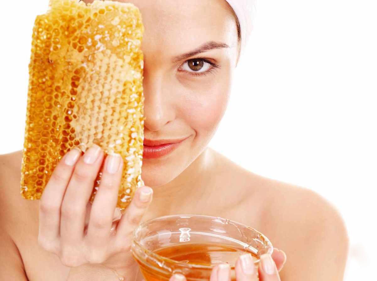 маска из мёда