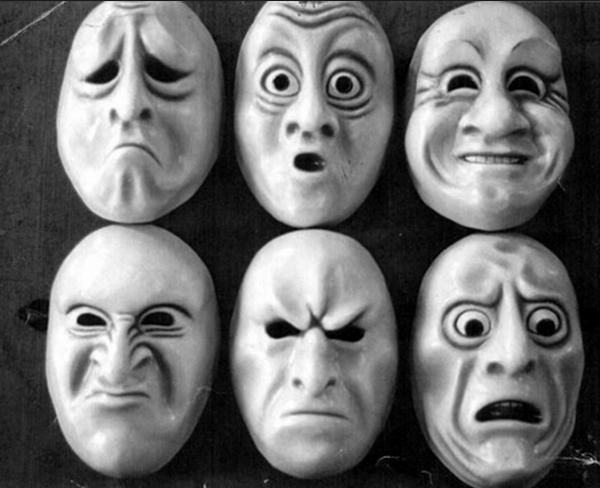 Маски с эмоциями