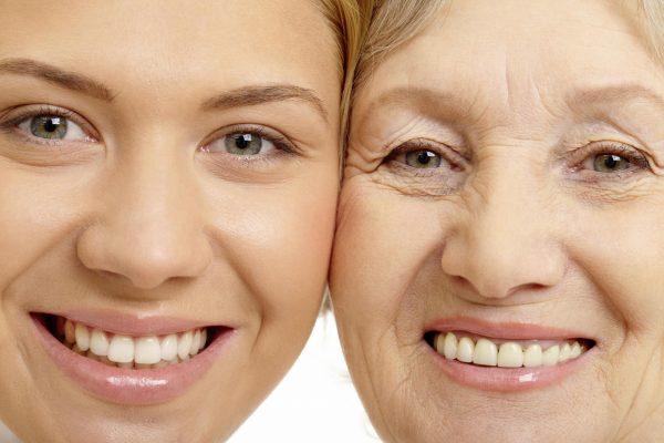 Разница между молодой и зрелой кожей