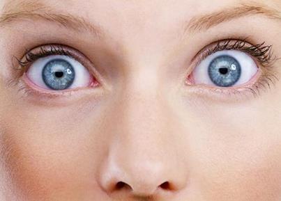 Широко раскрытые глаза