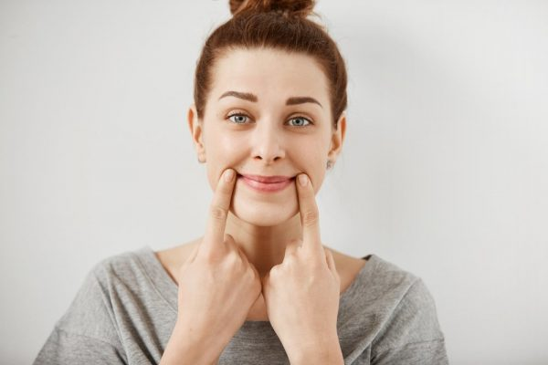 упражнения от морщин в носогубной области