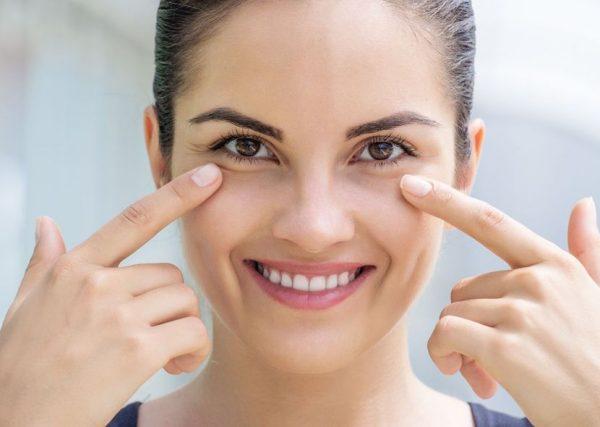 Упражнение от мелкой сетки морщин вокруг глаз