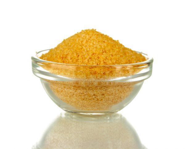 Сухой желатин в прозрачной креманке