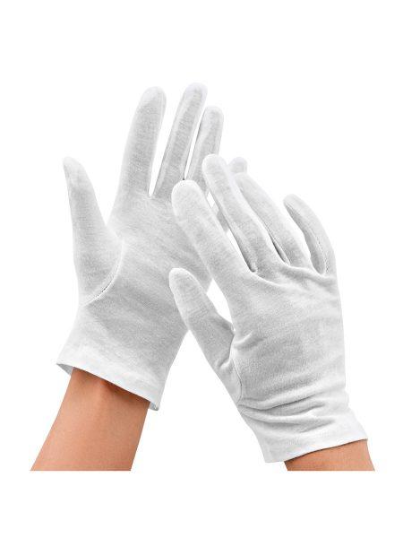 Хлопковые перчатки для косметических процедур