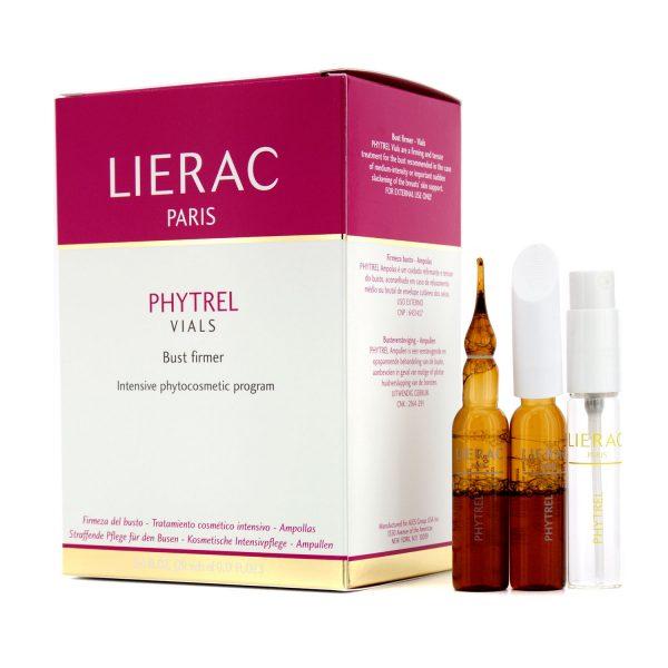 Ампульный раствор Фитрель для лифтинга и восстановления упругости кожи груди Phytrel Ampoules от Lierac