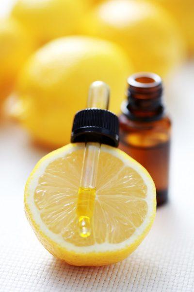 Эфир лимона на дозаторе