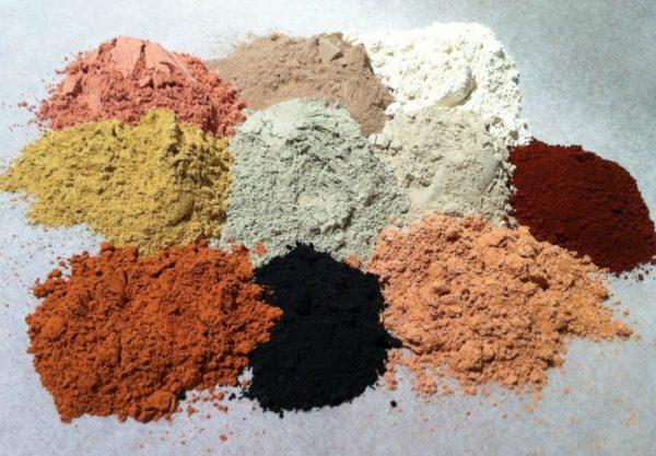 Разноцветная косметическая глина