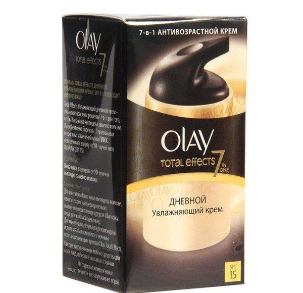 Упаковка крема Olay