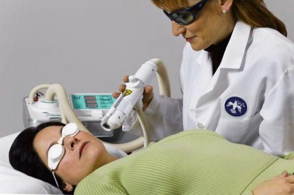 Процедура лазерного омоложения кожи