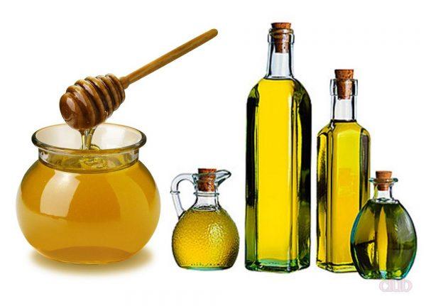 Мёд и оливковое масло