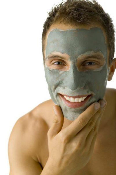 Мужская маска для лица