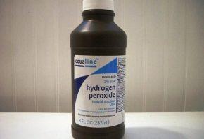 Перекись водорода от морщин