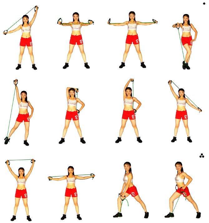 Упражнения для штанги и гантелей в домашних условиях 4