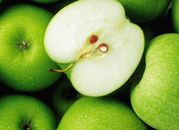 Зелёные яблоки