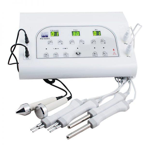Прибор, сочетающий возможность ультразвукового и микротокового массажа