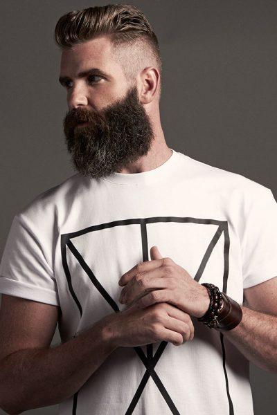 Касторовое масло делает бороду густой