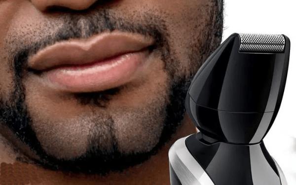 Моделирование триммером симметричной бороды