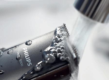 Очистка режущего лезвия и насадок после работы