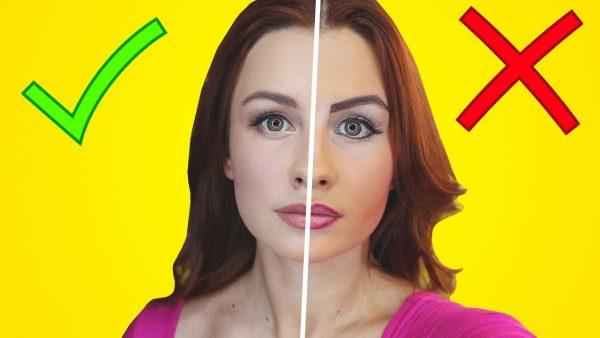 Правильный и неправильный макияж