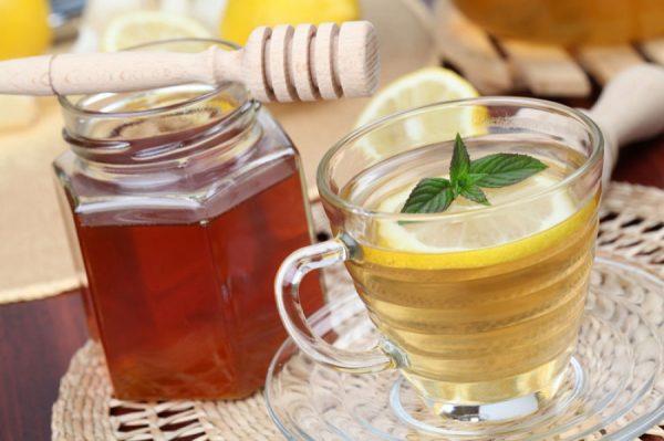 Медово-лимонный напиток