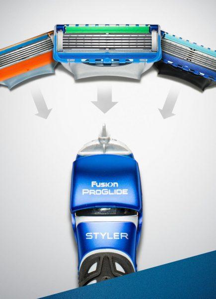 Лезвие для бритья Gillette
