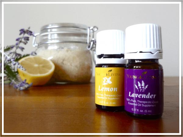 Масла лимона и лаванды
