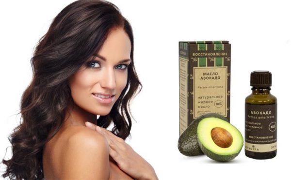 Масло авокадо и красивые волосы