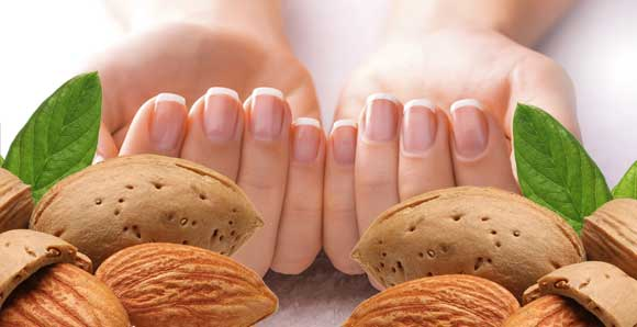 Миндаль и ногти