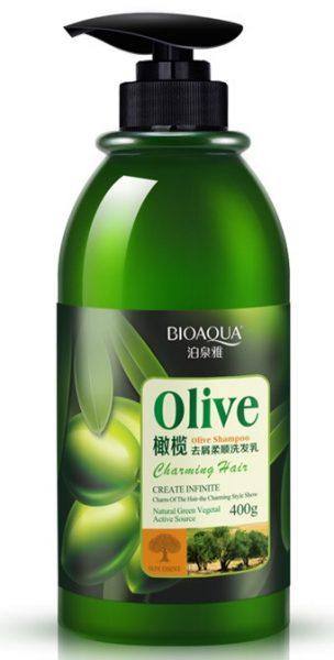 Оливковый шампунь