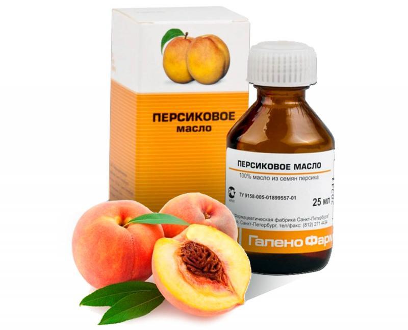 Персики и масло