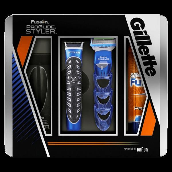 Подарочный набор Gillette Fusion ProGlide Styler