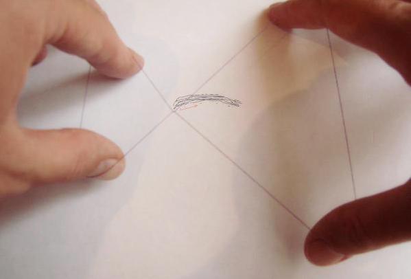 Схема выдёргивания влосков