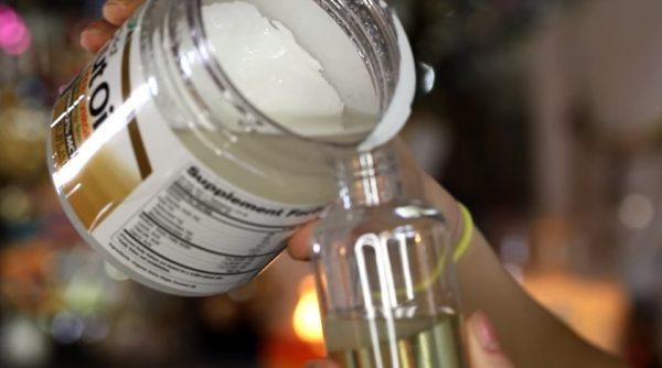 создание масла для ресниц шаг 2