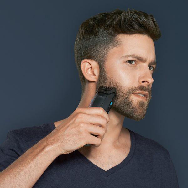 Стрижка усов и бороды триммером