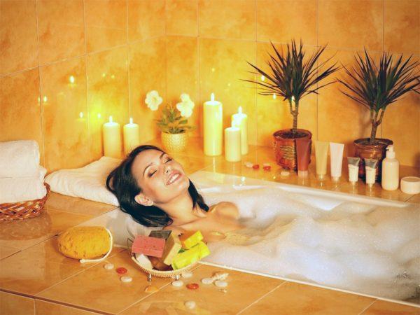 Прием ванны с маслами