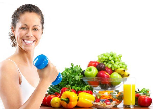 здоровый рацион и физическая активность